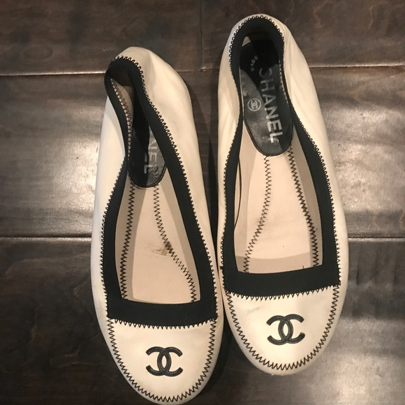 Auth Rare Chanel classic Flats❣️❣️